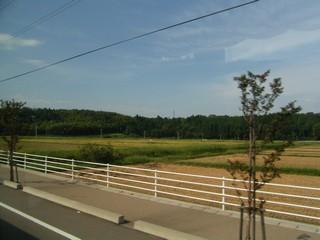 石川の車窓から