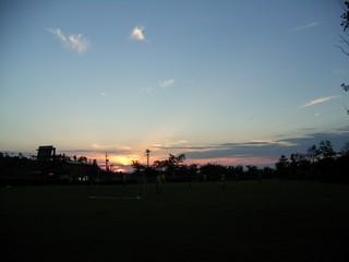 石川の夕暮れ