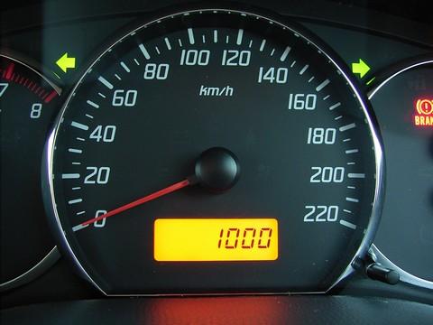 1,000km!