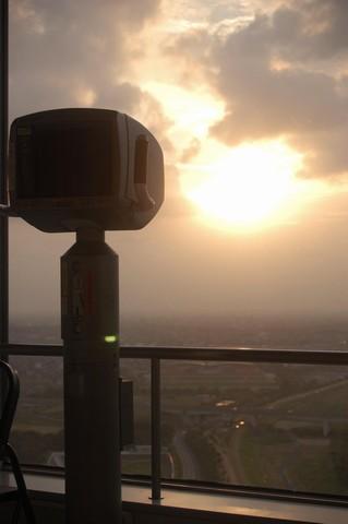 タワーからの夕景