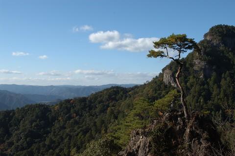 鳳来寺山の紅葉