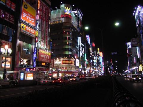 新宿のネオン