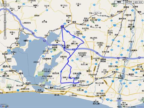 奥浜名湖国民宿舎への軌跡