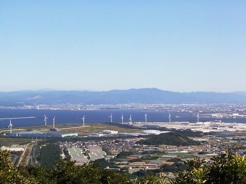 蔵王山からの景色