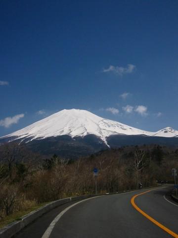 富士は遥か…