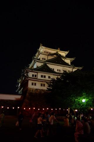 名古屋城ライトアップ