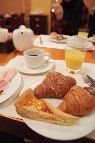 最後の朝食
