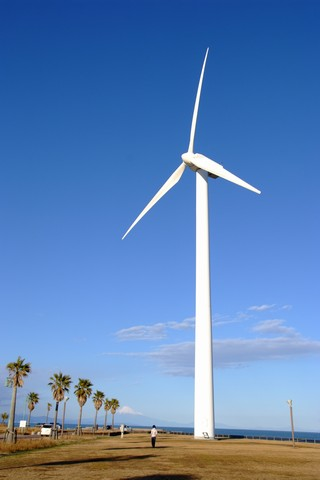 風力発電くるくる