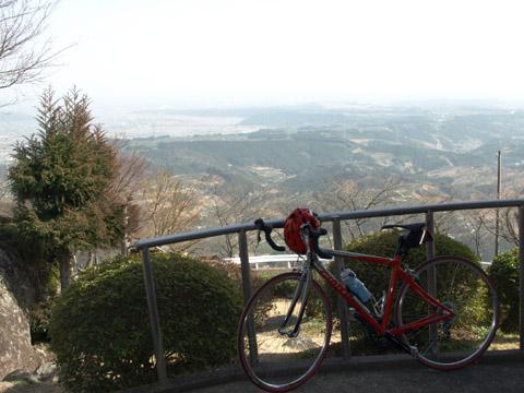 粟ヶ岳頂上から