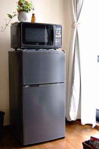 冷蔵庫とオーブンレンジ