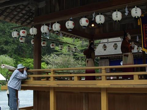 小國神社 十二段舞楽