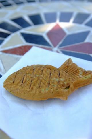 抹茶鯛焼き