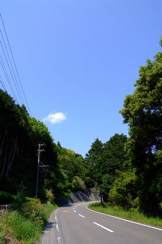 山岳コース突入