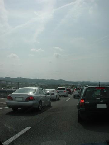 東名大渋滞
