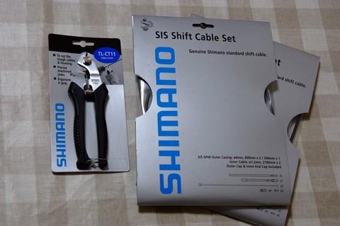 シフティングケーブルセット+TL-CT11 ケーブルカッター