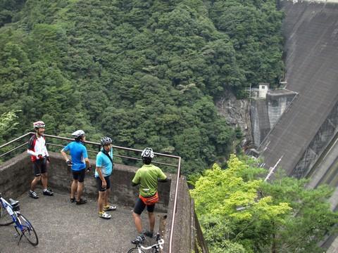 天竜ダム巡りポタリング