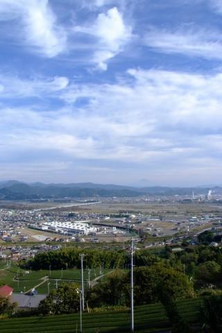 牧之原公園からの富士山