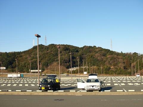 エコパ駐車場