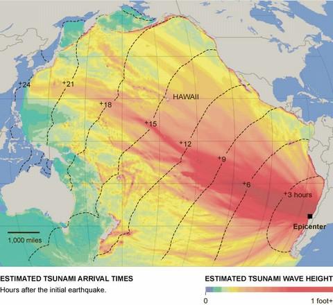 津波警報の余波