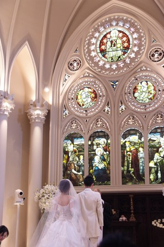 結婚式@セントグレース大聖堂