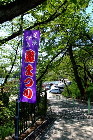 天王川公園の藤まつり