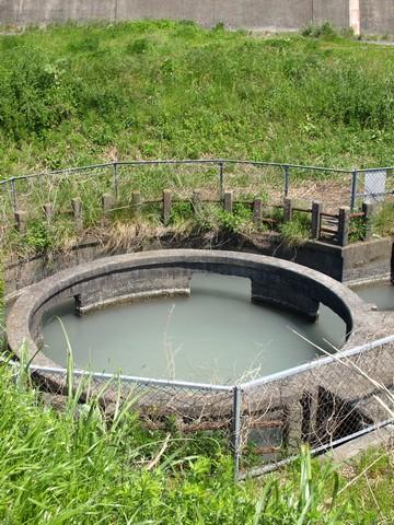 島田の円筒分水
