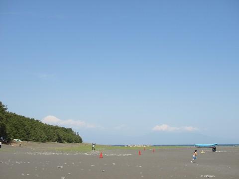 三保松原と富士山