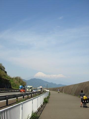 由比の富士山