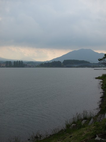 河口湖サイクリング