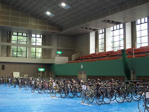 自転車預け場