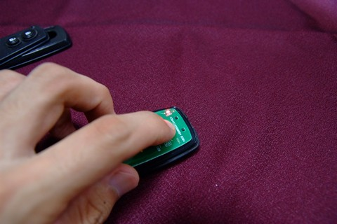 スマートキーバッテリー交換