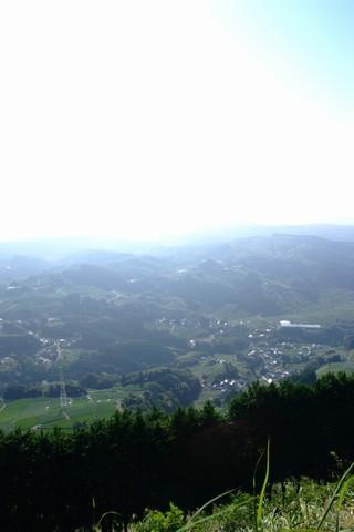 秋の粟ヶ岳