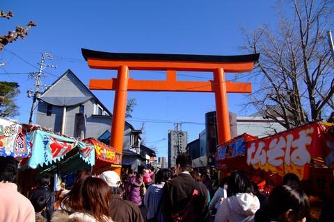 津島神社へ初詣