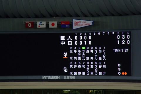 2011/5/8 巨人戦