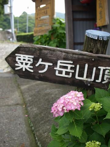 粟ヶ岳ヒルクライム