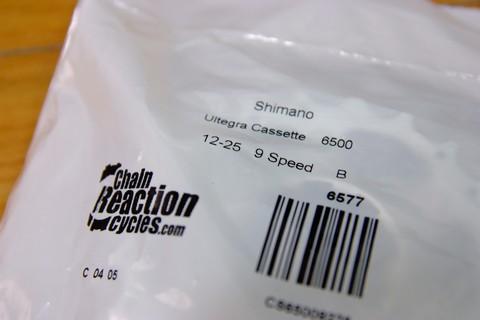 SHIMANO CS-6500 12-25T