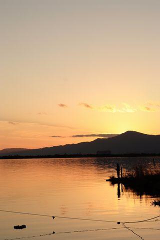 2011年最後の夕日